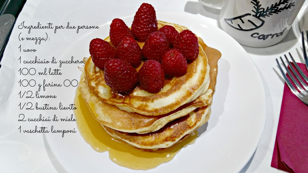 pancakes ingredienti